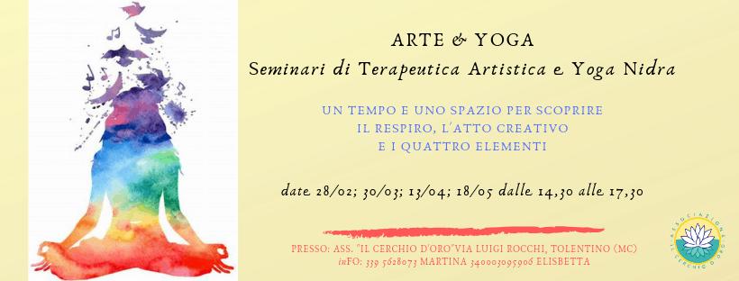 locandina seminario arte e yoga