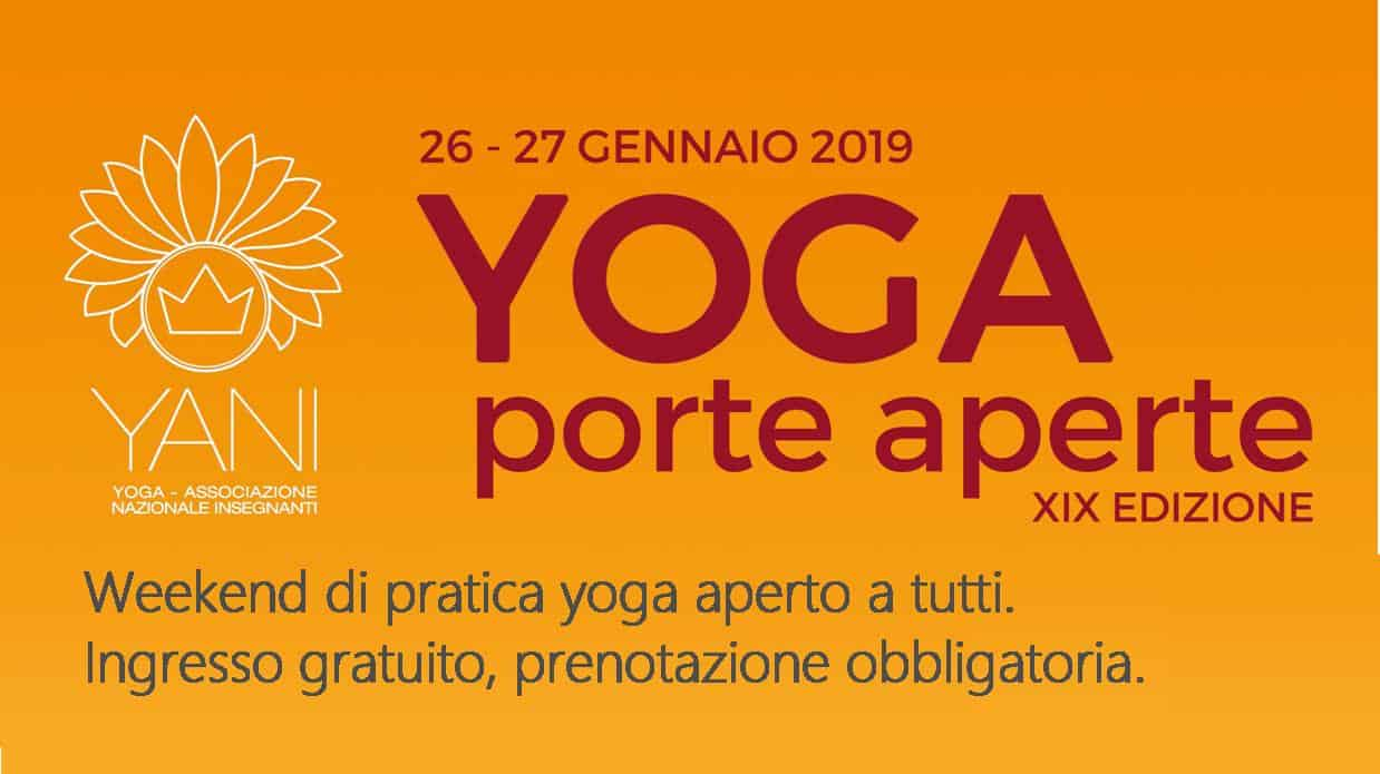 locandina yoga porte aperte 2019